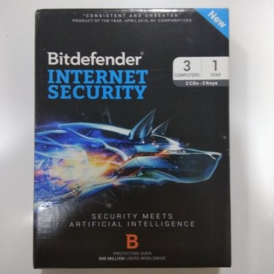 3 User, 1 Year, Bitdefender Internet Security