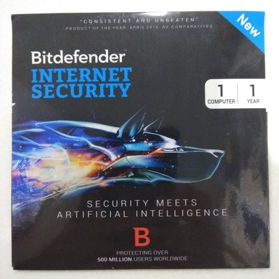 1 User, 1 Year, Bitdefender Internet Security
