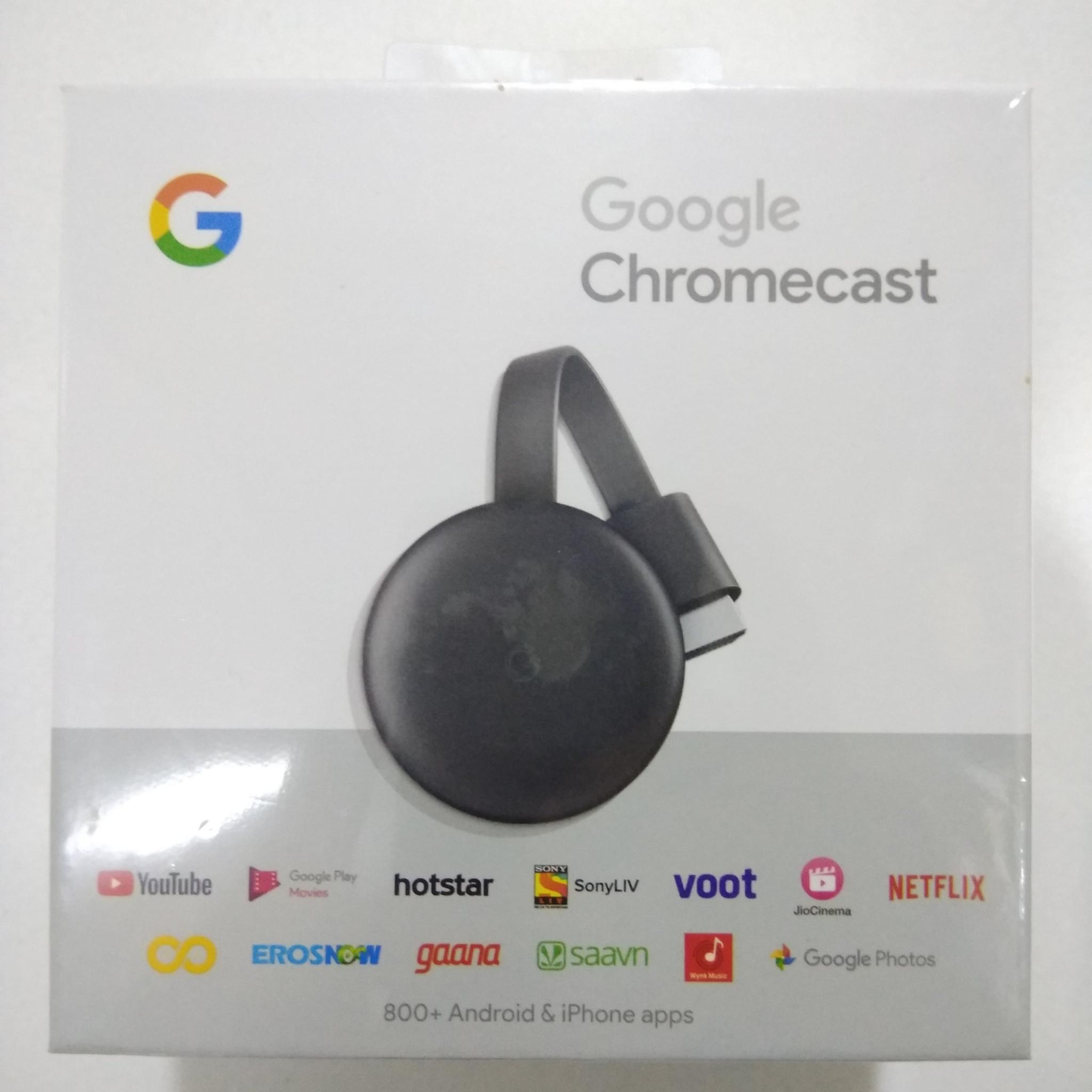 Google Chromecast-3rd Generation Media Player Chromecast-3rd HSN:85176290
