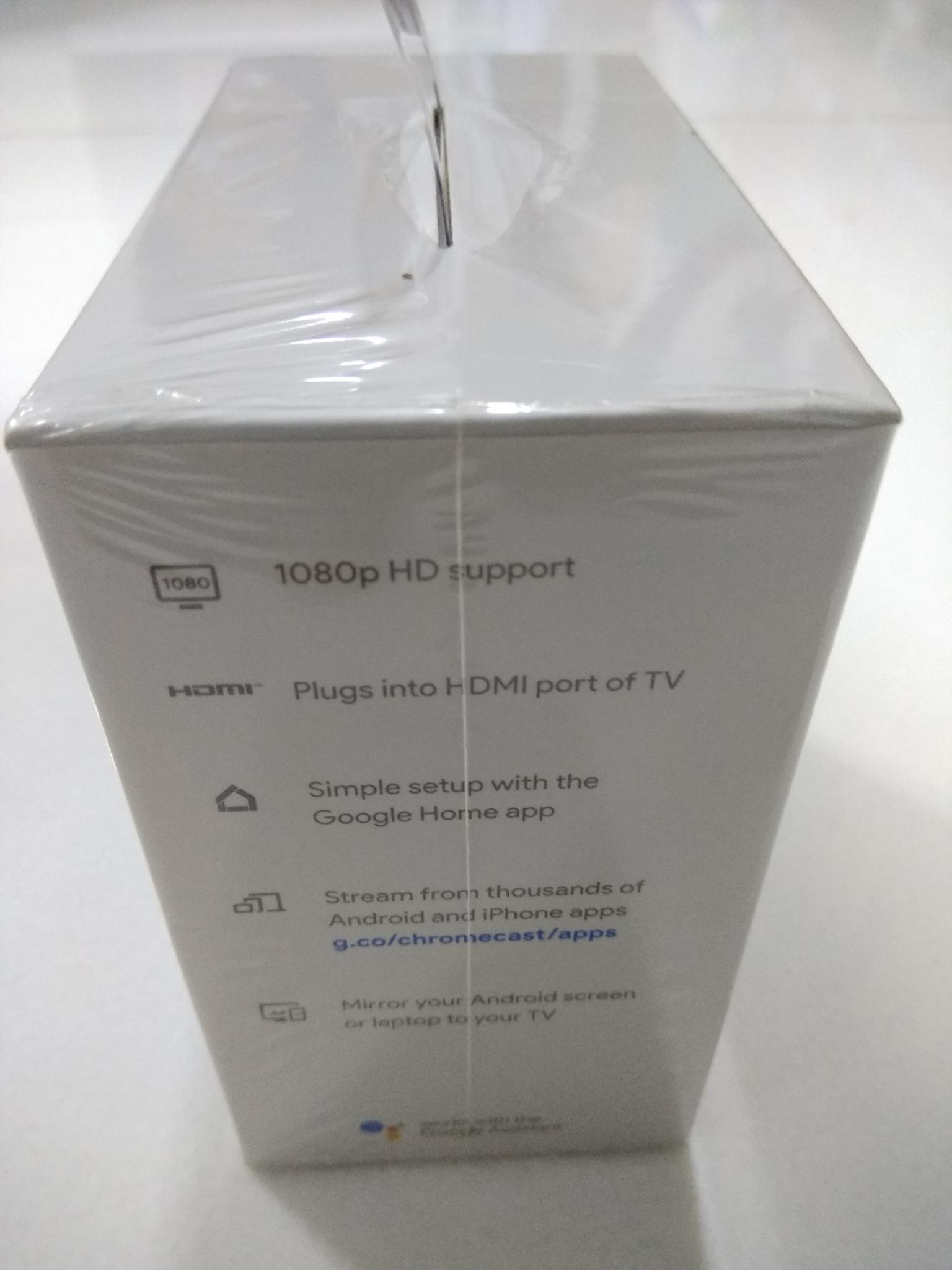 Google Chromecast-3rd Generation Media Player