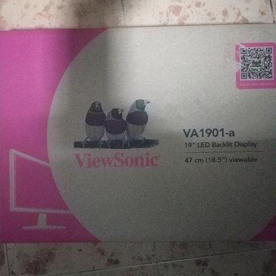 ViewSonic VA1901-A 18.5-inch LED Monitor