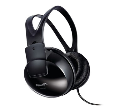 Philips SHP 1900/10 Over-Ear Headphones without mic