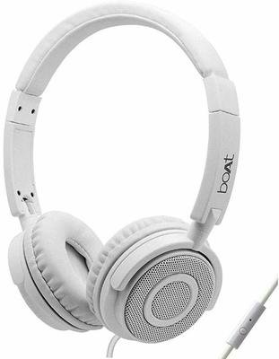 boAt bass Head 910 Headset with Mic, Over the Ear, White