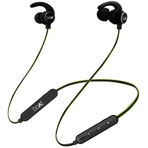 Boat Rockerz 255r Bluetooth Headset, Neon