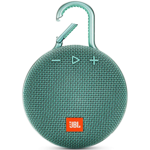 JBL CLIP 3 Bluetooth Speaker, Teal