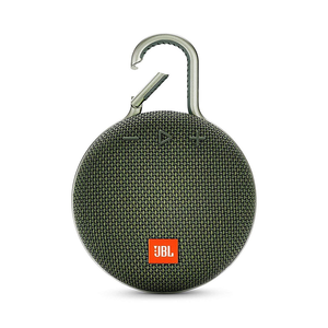 JBL CLIP 3 Bluetooth Speaker, Green
