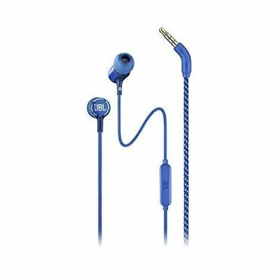 JBL Live 100 in-Ear Headphones with Mic, Blue