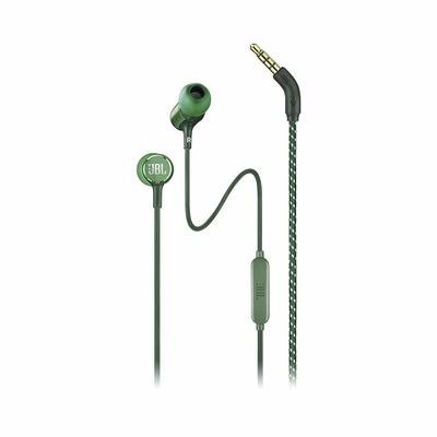 JBL Live 100 in-Ear Headphones with Mic, Green