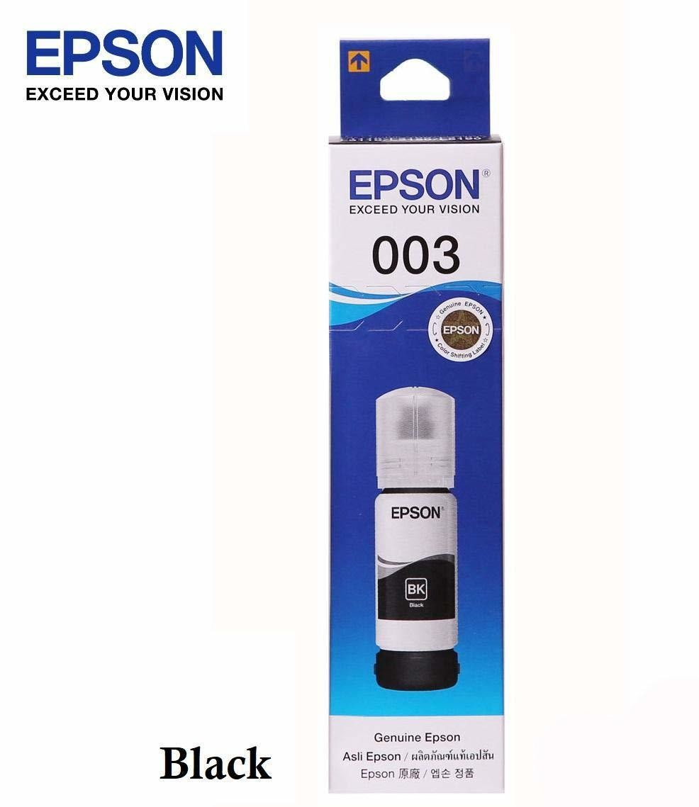 Epson Ink Bottle, 003, Black, 65ml
