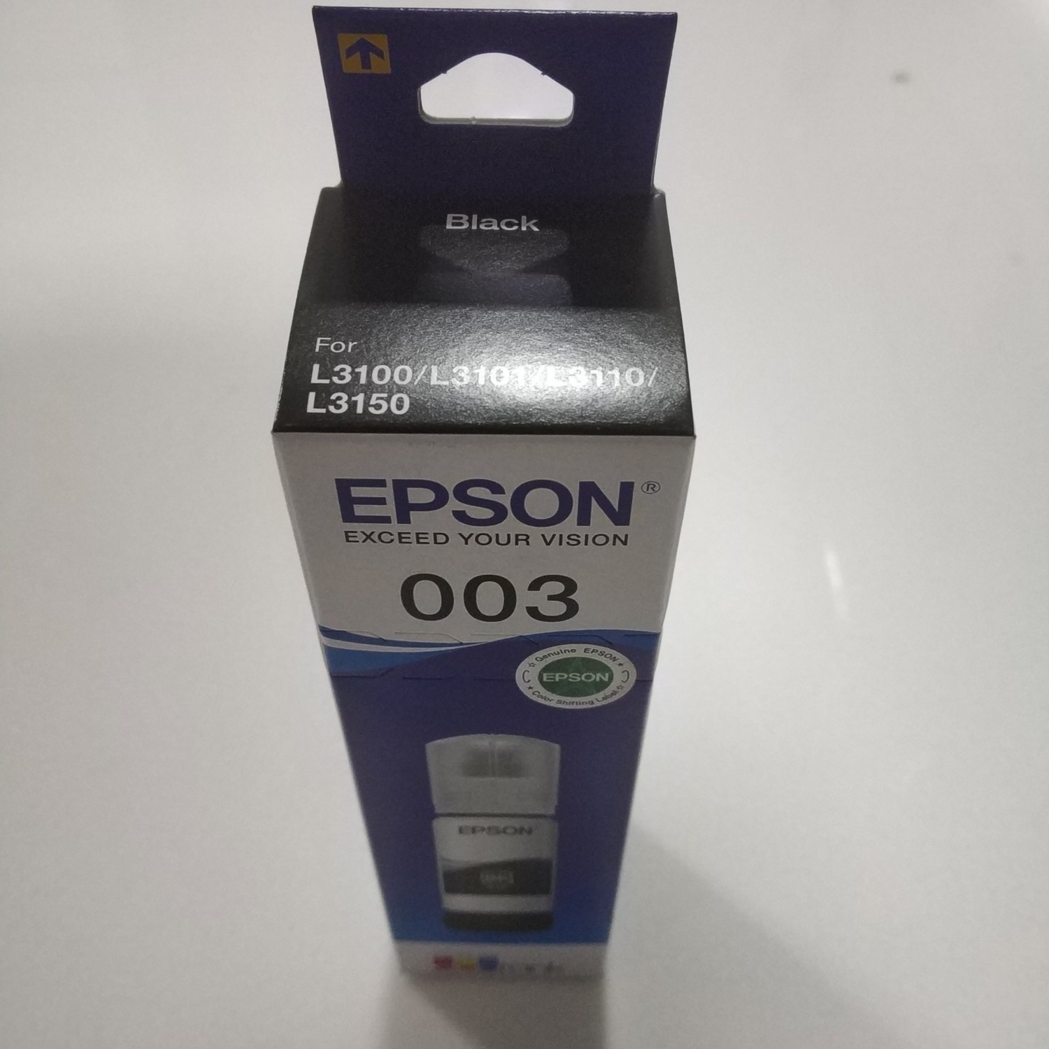 Epson Ink Bottle, 003, Black, 65ml, Rs 242
