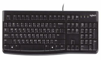 Logitech K120 Hindi + English USB Keyboard
