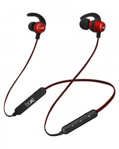 boAt Rockerz 255r Bluetooth Headset, Raging Red