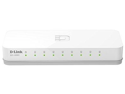 D-Link DES-1008C 8-Port 10/100 Desktop Switch