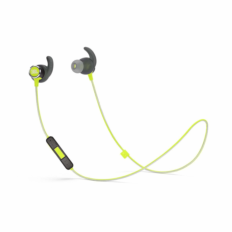 5640be4aa71 JBL Reflect Mini 2 Wireless in-Ear Sport Headphones- Green, Rs.4027