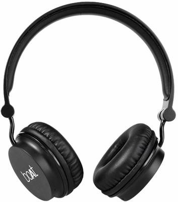 Boat Rockerz 400 On-Ear Bluetooth Headphone, Carbon Black