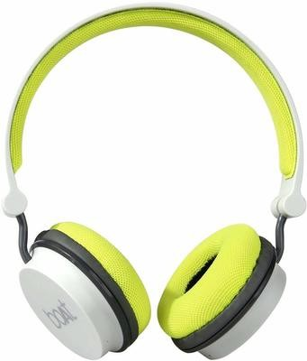 boAt Rockerz 400 Bluetooth On-Ear Headphones, Grey/Green