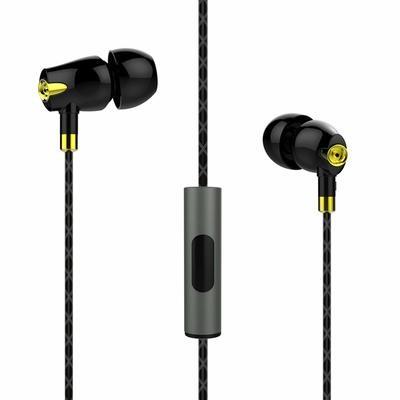 Boat Nirvanaa Bliss CE-1 In Ear Wired Earphones, Black