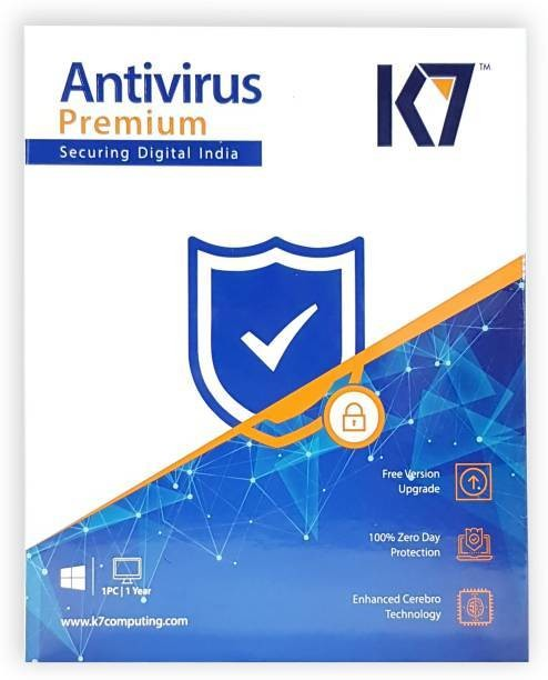 1 User, 1 Year, K7 Antivirus, Premium