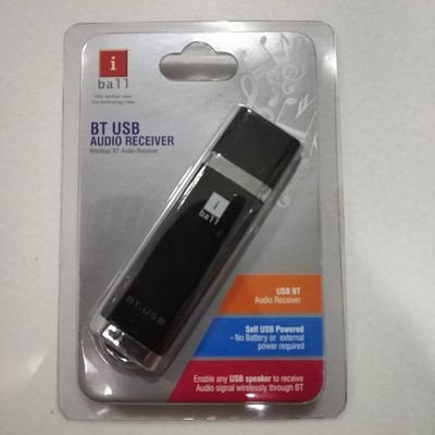 Iball Bluetooth USB Audio Receiver