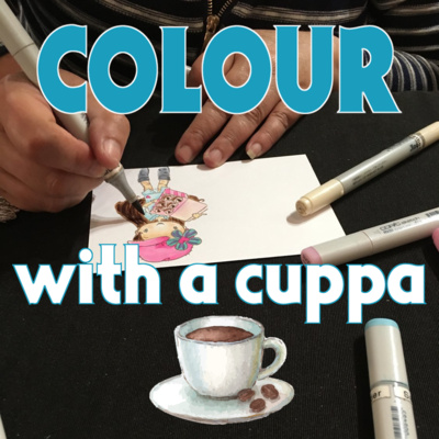 Colour with a cuppa - Wed 18 September