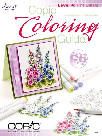 Copic Colouring guide 4 - Fine details