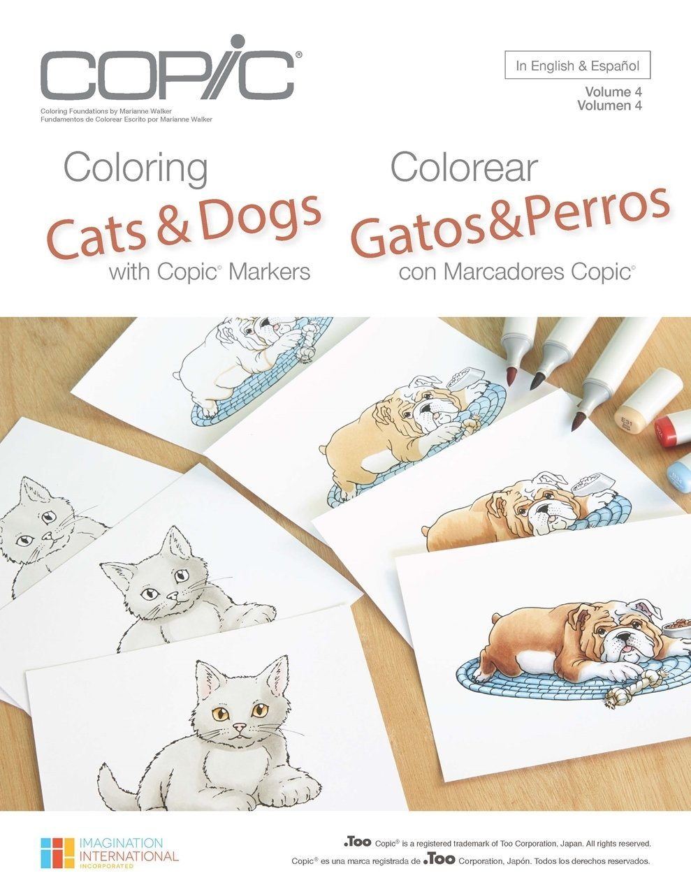 Copic Colouring - Cats and Dogs