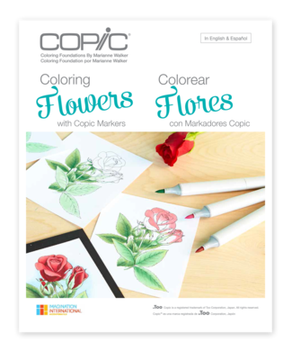 Copic Colouring - Flowers
