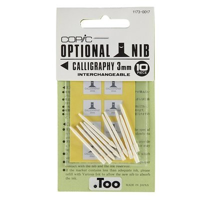 Copic Nibs - Calligraphy 3mm