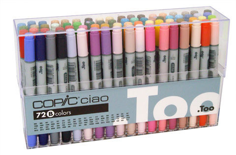 Copic Ciao 72 Set B CC72B