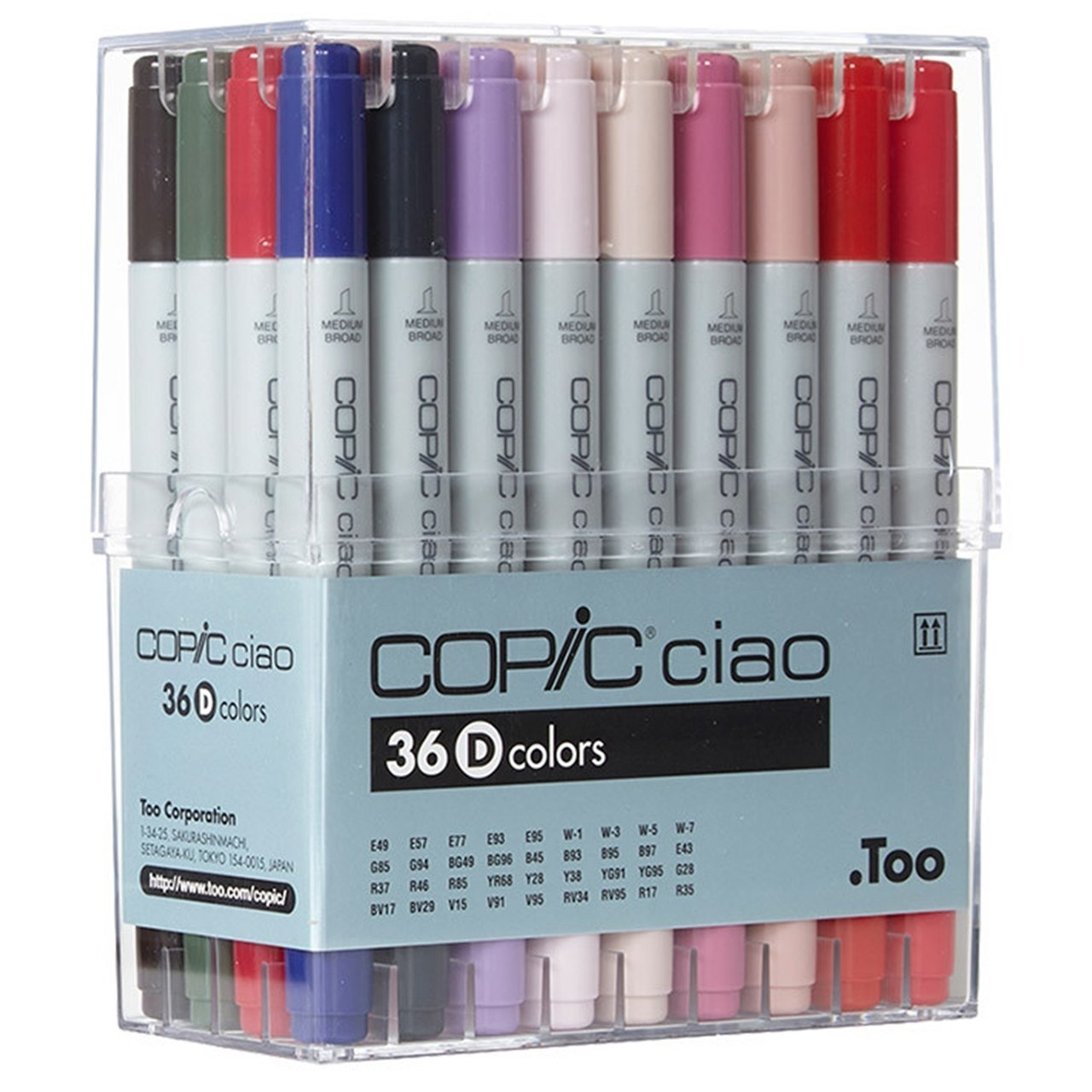 COPIC Ciao 36D set