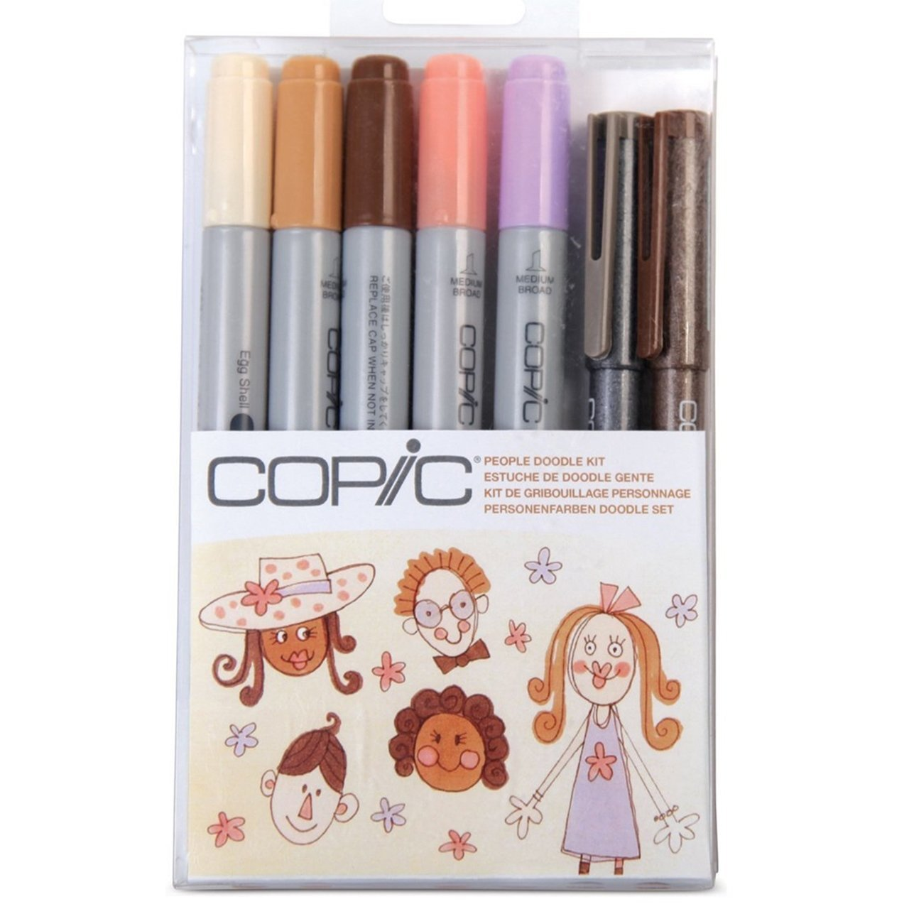 Copic Ciao People Doodle Kit