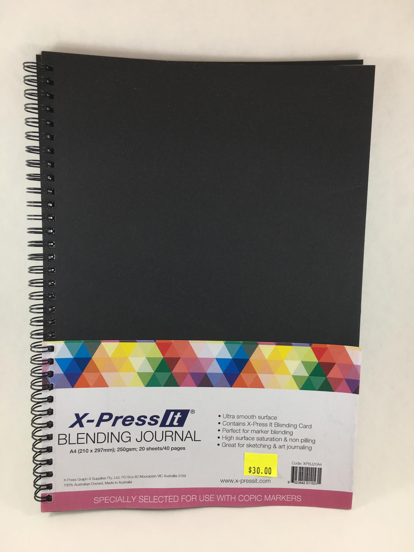 A4 blending journal Xpress IT