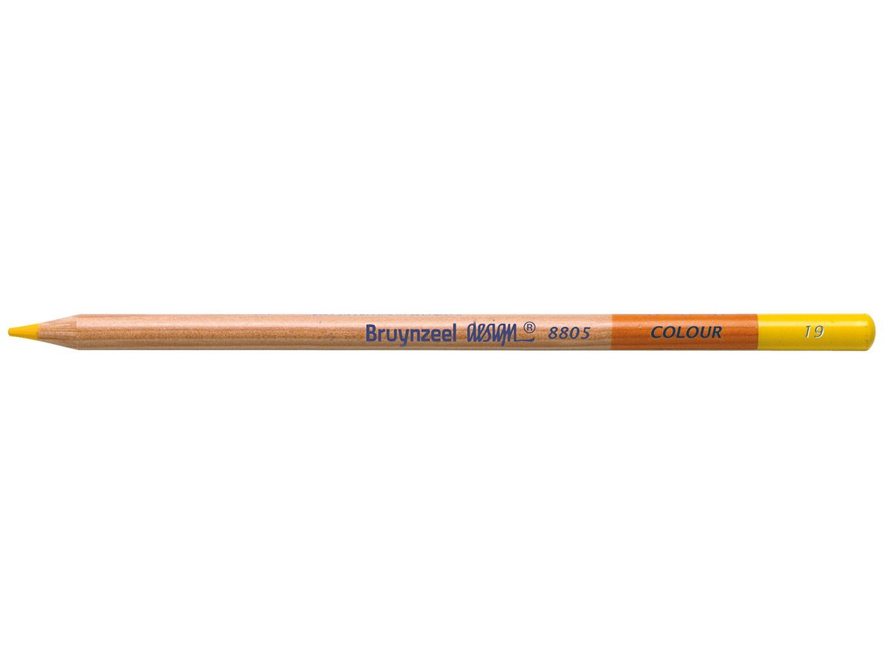 Bruynzeel Pencil - 19 Naples Yellow