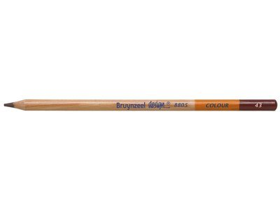 Bruynzeel Pencil - 43 Dark Brown