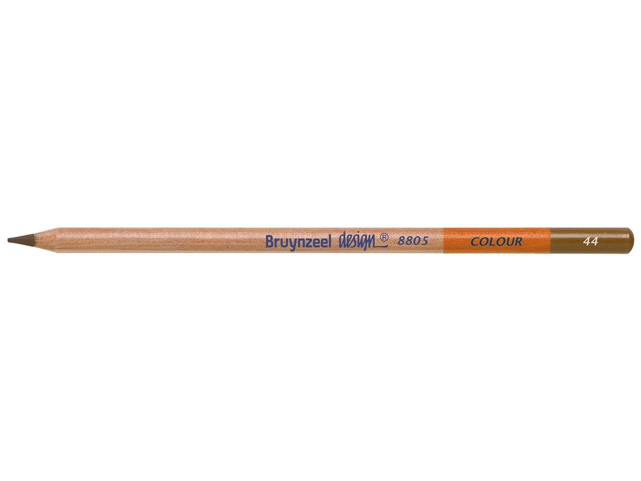 Bruynzeel Pencil - 44 Mid Brown