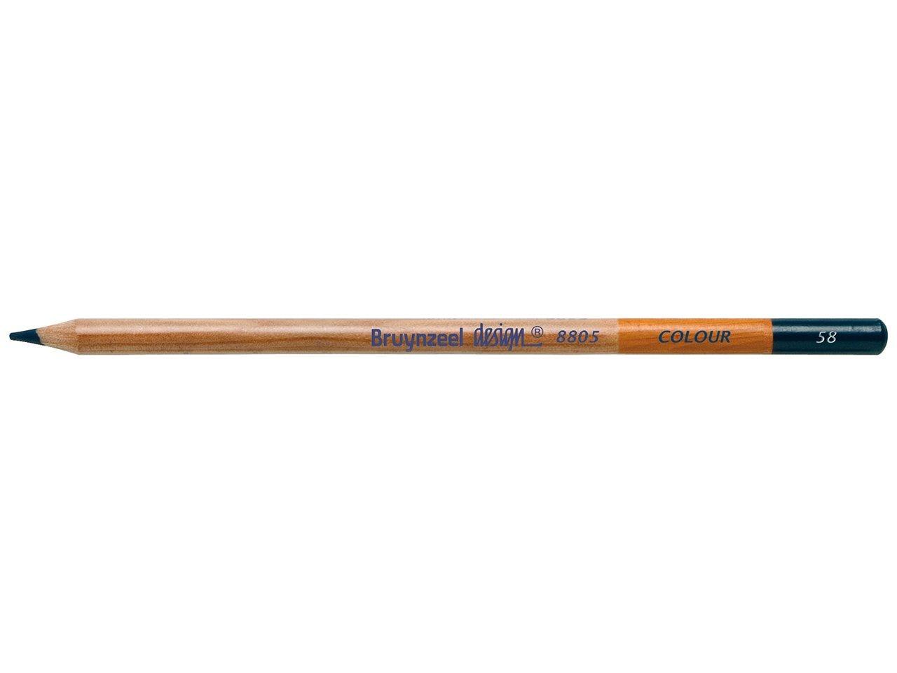 Bruynzeel Pencil - 58 Prussian Blue