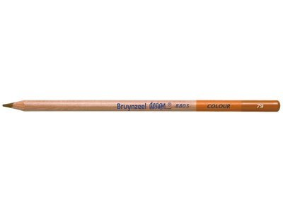 Bruynzeel Pencil - 79 Burnt Ochre
