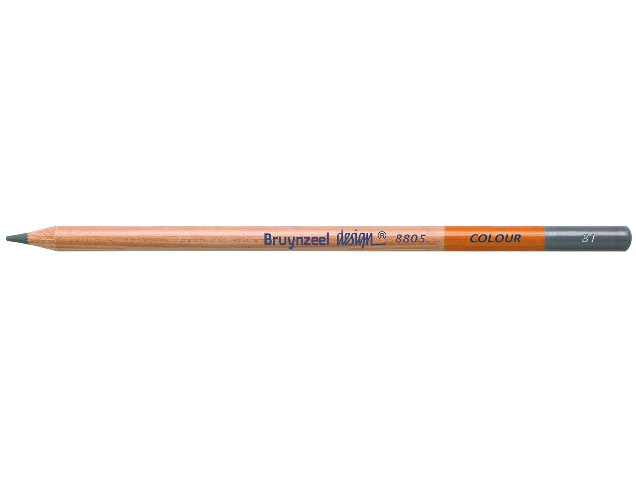 Bruynzeel Pencil - 81 Mid Brown Grey
