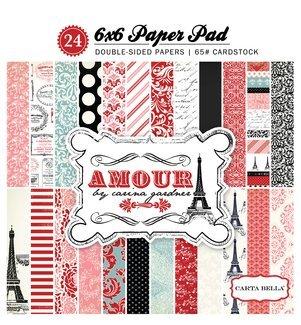 Echo Park Amour 6x6 Paper Pad