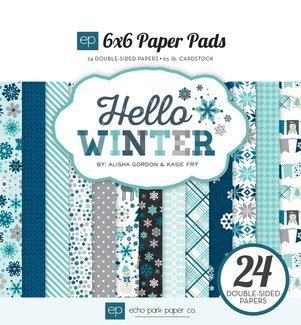 Echo Park Hello Winter 6x6 Paper Pad