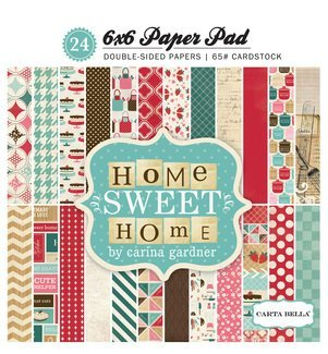 Echo Park Home Sweet Home 6x6 Paper Pad