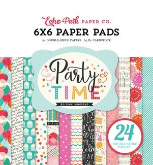 Echo Park Party Time 6x6 Paper Pad