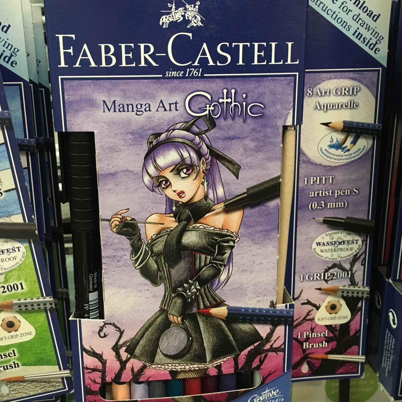 Fabercastell - Gothic set
