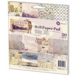 Prima 8x8 Paper Pad-French Riviera