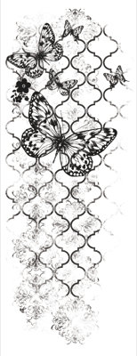 Kaiser Craft - Clear Stamps - Flutter
