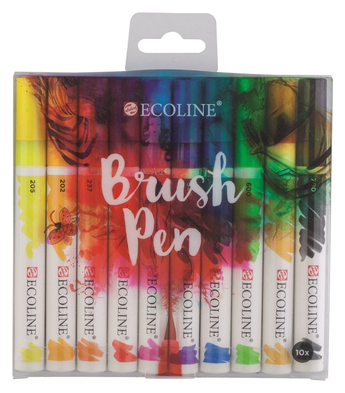 Ecoline Brush pen set of 10 EBP10
