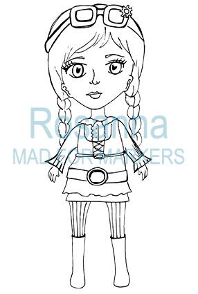 Steampunk Rosanna