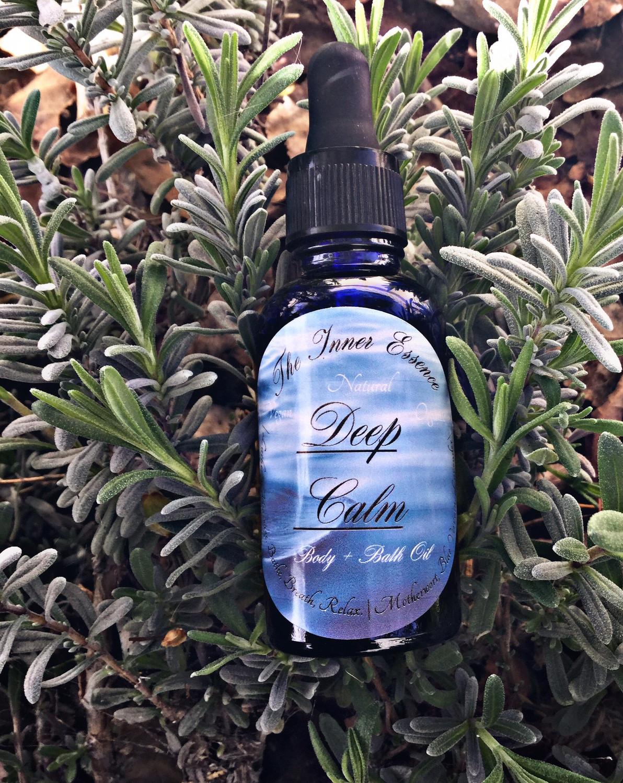 Deep Calm Body + Bath Oil