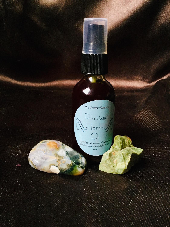 Plantain Herbal Oil