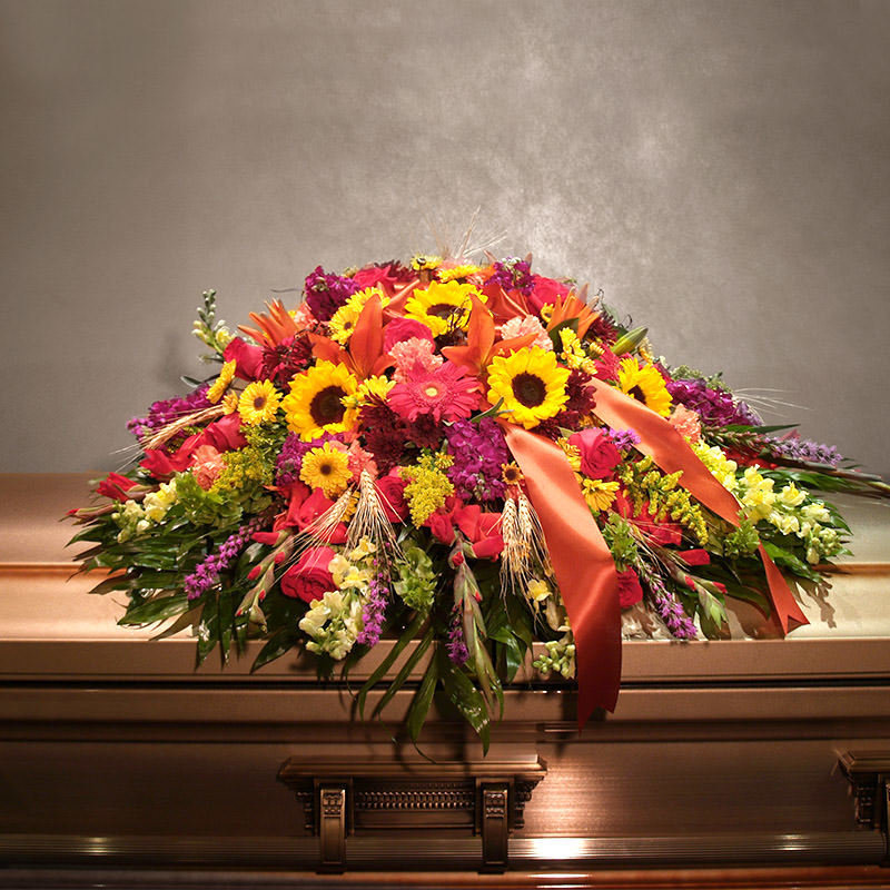 Autumn Harvest - Casket Spray